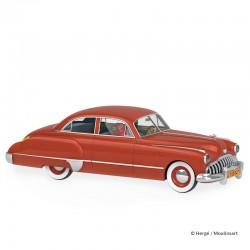 Véhicule Moulinsart Tintin - La Buick roadmaster de Müller (Echelle 1/24)
