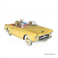 Véhicule Moulinsart Tintin - Le cabriolet Bordure (Echelle 1/24)