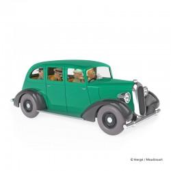 Véhicule Moulinsart Tintin - La voiture des gangsters (Echelle 1/24)
