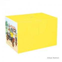 Véhicule Moulinsart Tintin - La Ford Jaune Tintin au Congo (Echelle 1/12)