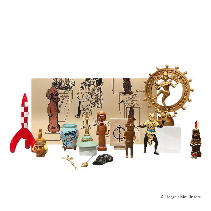 Moulinsart Tintin - Coffret Musée Imaginaire de Tintin