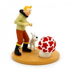 Figurine Moulinsart Tintin - Tintin Etoile Mystérieuse (Japon)