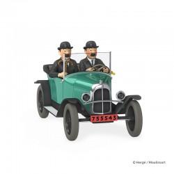 Véhicule Moulinsart Tintin - La trèfle 5CV des Dupondt (Echelle 1/24)