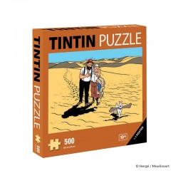 """Puzzle Moulinsart Tintin - """"Le Pays de la Soif"""" (500 pièces)"""
