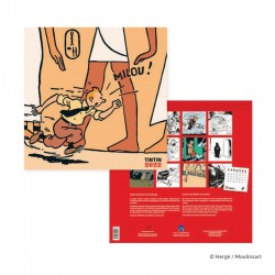 Papeterie Moulinsart Tintin - Calendrier 2022 Grand Format