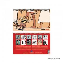 Papeterie Moulinsart Tintin - Calendrier 2022 Petit Format