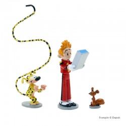 Pixi Franquin Spirou - Spirou, Spip, le Marsupilami et le mini Fantasio