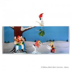 Pixi Uderzo Astérix - Le gui sous la neige