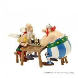 Pixi Uderzo Astérix - Astérix, Obélix et Panoramix : la partie d'échecs