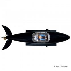 Véhicule Moulinsart Tintin - Le sous-marin requin 77 cm
