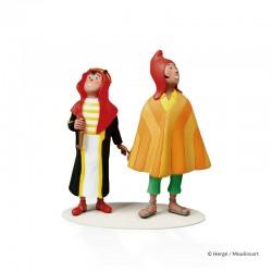 Figurine Moulinsart Tintin - Abdallah & Zorrino Musée Imaginaire