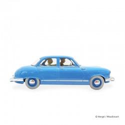 Véhicule Moulinsart Tintin - Le Taxi Panhard Dyna Z (Echelle 1/24)