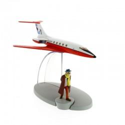 Avion Moulinsart Tintin - Fig 02 Carreidas 160 + Laszlo Carreidas