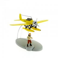 Avion Moulinsart Tintin - Fig 03 Hydravion F.E.R.S. + Tintin
