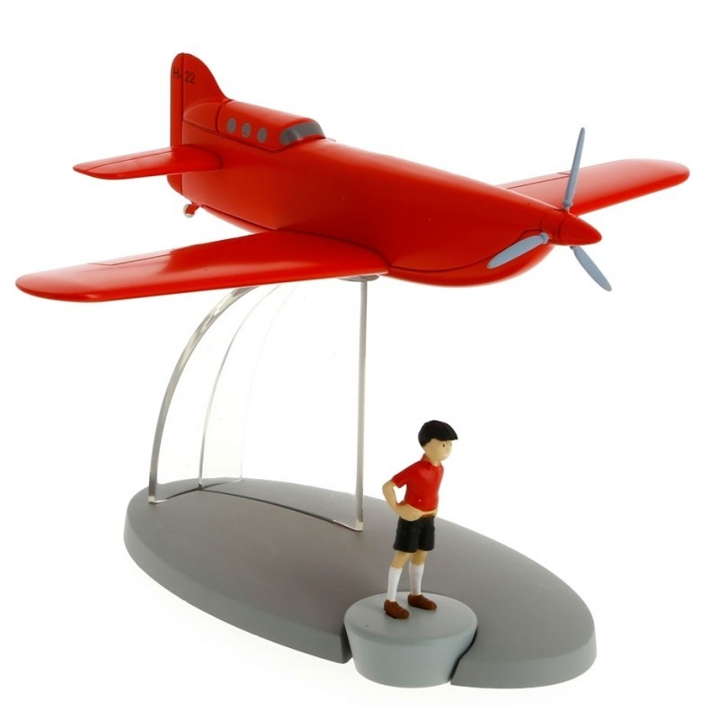 Avion Moulinsart Tintin - Fig 26 Stratonef H22 + Jo
