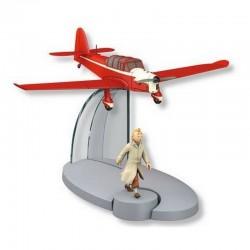Avion Moulinsart Tintin - Fig 37 Avion des Faux monnayeurs + Tintin