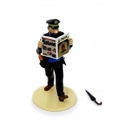 """Plomb Moulinsart Tintin - """"Lisez Tintin"""" Haddock + Parapluie"""