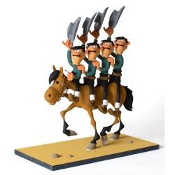 Fariboles Morris Lucky Luke - Les Daltons à cheval
