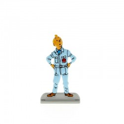 Relief Moulinsart Tintin - Fig 08 Objectif Lune