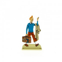 Relief Moulinsart Tintin - Fig 25 Tintin à la valise
