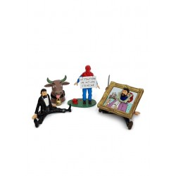 Pixi Moulinsart Tintin - Collection Expressions - Haddock Trio