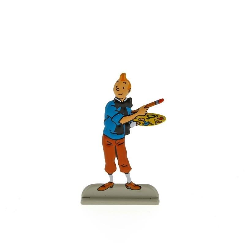 Relief Moulinsart Tintin - Fig 32 Tintin peintre