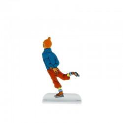 Relief Moulinsart Tintin - Fig 33 Tintin patineur