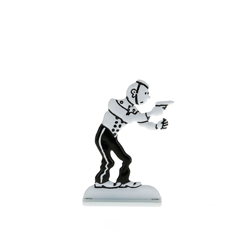 Relief Moulinsart Tintin - Fig 37 Tintin groom Amérique (N&B)