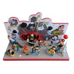 """Pixi Franquin Gaston -""""Origine"""" Gaston Atomium Pâques"""