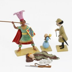 Pixi Moulinsart Tintin - Coll. Rêves et Cauchemars - Tournesol Fleurs Inca